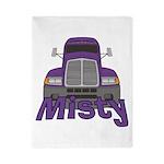 Trucker Misty Twin Duvet