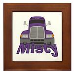 Trucker Misty Framed Tile