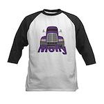 Trucker Molly Kids Baseball Jersey