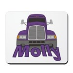 Trucker Molly Mousepad