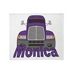 Trucker Monica Throw Blanket