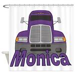 Trucker Monica Shower Curtain