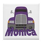 Trucker Monica Tile Coaster
