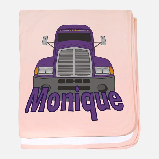 Trucker Monique baby blanket