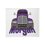 Trucker Morgan Throw Blanket