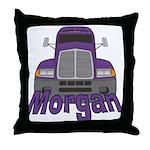 Trucker Morgan Throw Pillow