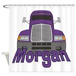 Trucker Morgan Shower Curtain