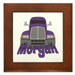 Trucker Morgan Framed Tile