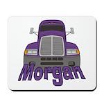 Trucker Morgan Mousepad