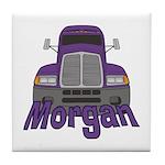 Trucker Morgan Tile Coaster