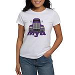 Trucker Mya Women's T-Shirt