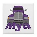 Trucker Mya Tile Coaster
