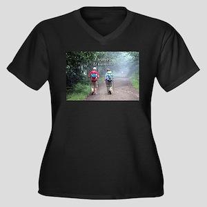 I walked El Camino, Spain, walke Plus Size T-Shirt