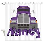 Trucker Nancy Shower Curtain