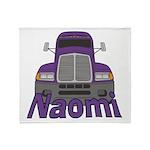 Trucker Naomi Throw Blanket