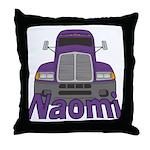 Trucker Naomi Throw Pillow