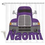 Trucker Naomi Shower Curtain