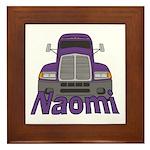 Trucker Naomi Framed Tile
