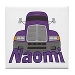 Trucker Naomi Tile Coaster