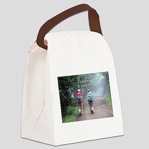 I walked El Camino, Spain, walker Canvas Lunch Bag