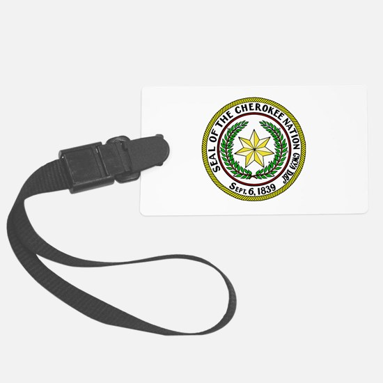 Great Seal of the Cherokee Nation Luggage Tag