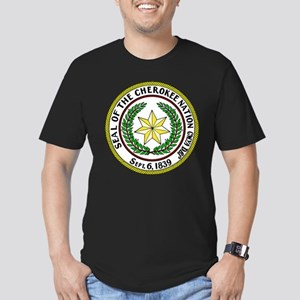 Great Seal of the Cherokee Nation Men's Fitted T-S