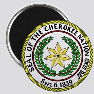 Great Seal of the Cherokee Nation Magnet