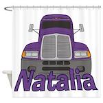 Trucker Natalia Shower Curtain