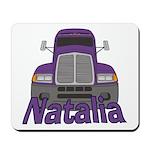 Trucker Natalia Mousepad