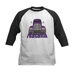 Trucker Natalia Kids Baseball Jersey