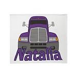 Trucker Natalia Throw Blanket