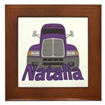 Trucker Natalia Framed Tile