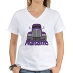 Trucker Natalie Women's V-Neck T-Shirt