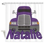 Trucker Natalie Shower Curtain