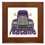 Trucker Natalie Framed Tile