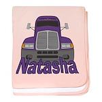 Trucker Natasha baby blanket