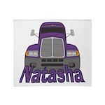 Trucker Natasha Throw Blanket
