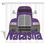 Trucker Natasha Shower Curtain