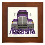 Trucker Natasha Framed Tile
