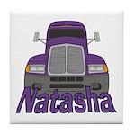 Trucker Natasha Tile Coaster