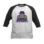 Trucker Nevaeh Kids Baseball Jersey