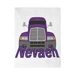 Trucker Nevaeh Twin Duvet