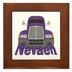 Trucker Nevaeh Framed Tile
