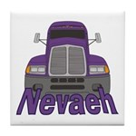 Trucker Nevaeh Tile Coaster