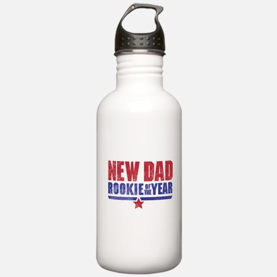 New Dad Rookie of the Year Water Bottle