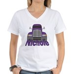 Trucker Nichole Women's V-Neck T-Shirt