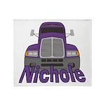 Trucker Nichole Throw Blanket
