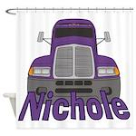 Trucker Nichole Shower Curtain