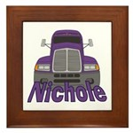 Trucker Nichole Framed Tile