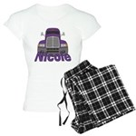 Trucker Nicole Women's Light Pajamas
